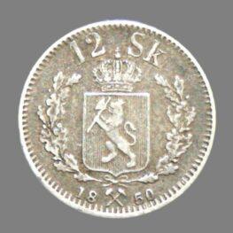 12 skilling 1850