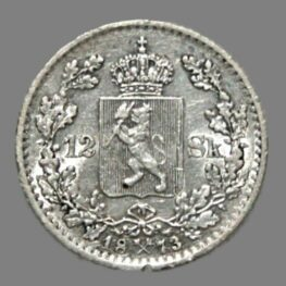 12 skilling 1873