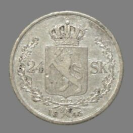 24 skilling (ort) 1845