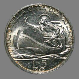 Vatican City, 5 lire 1940