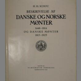 Beskrivelse af danske og norske mønter 1448-1814 og danske mønter 1815-1923