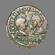 Æ27 from Emperor Gordian III 241-244 AD
