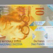 Switzerland, 10 francs 1997