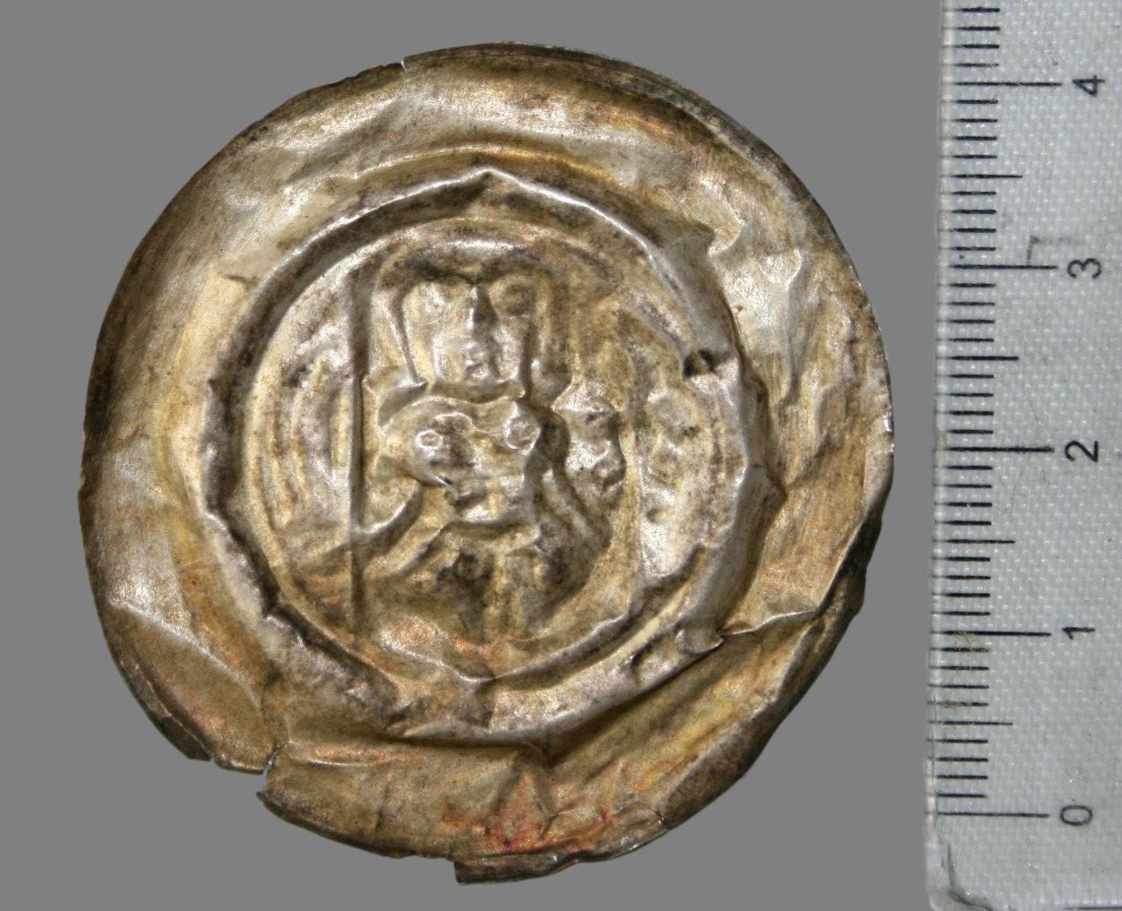 Germany, impressive brakteat 1221-1288