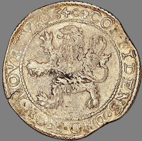Netherlands, leuwendaalder 1640