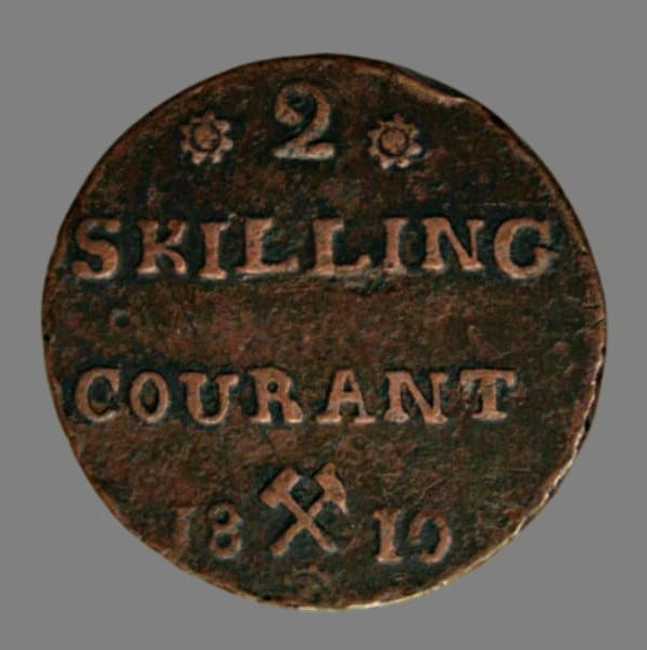 2 skilling 1810