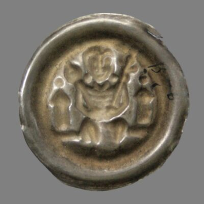 Germany, brakteat from the time of Count Heinrich I (1170-1252)