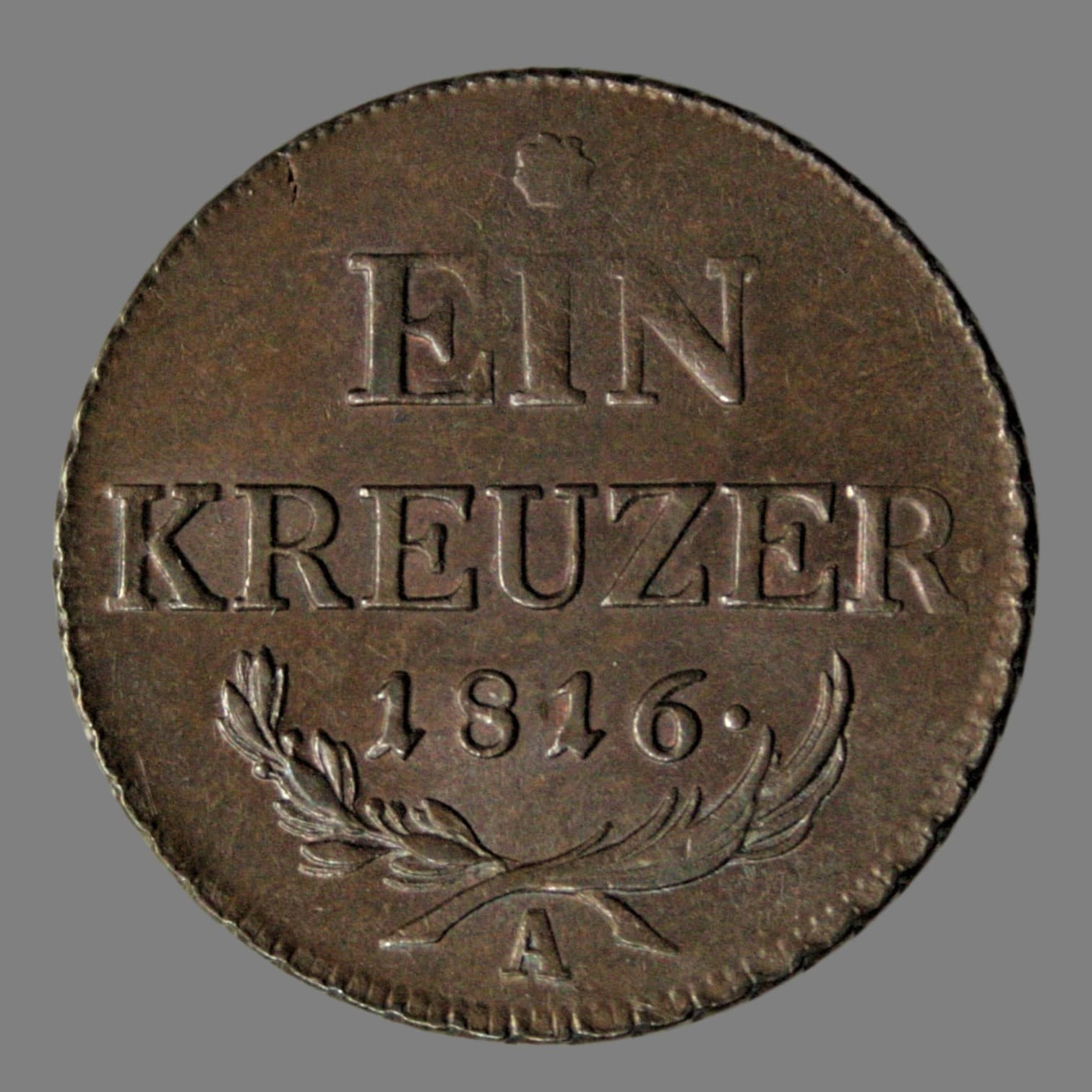 Austria, 1 kreuzer 1816