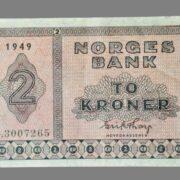 2 kroner 1949