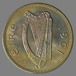 Ireland, florin 1961