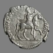 Denarius from Emperor Septimus Severus (196 AD)
