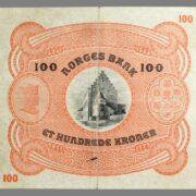 100 kroner 1939