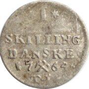 1 skilling 1764