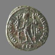 Billon follis from Emperor Licinius (314 AD)