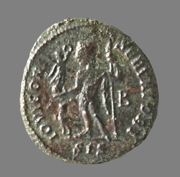 Billon follis from Emperor Licinius (314 AD)