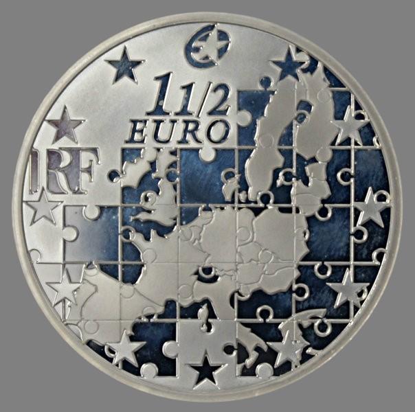 France, 1 1/2 euro 2004