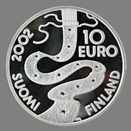 Finland, 10 euro 2002